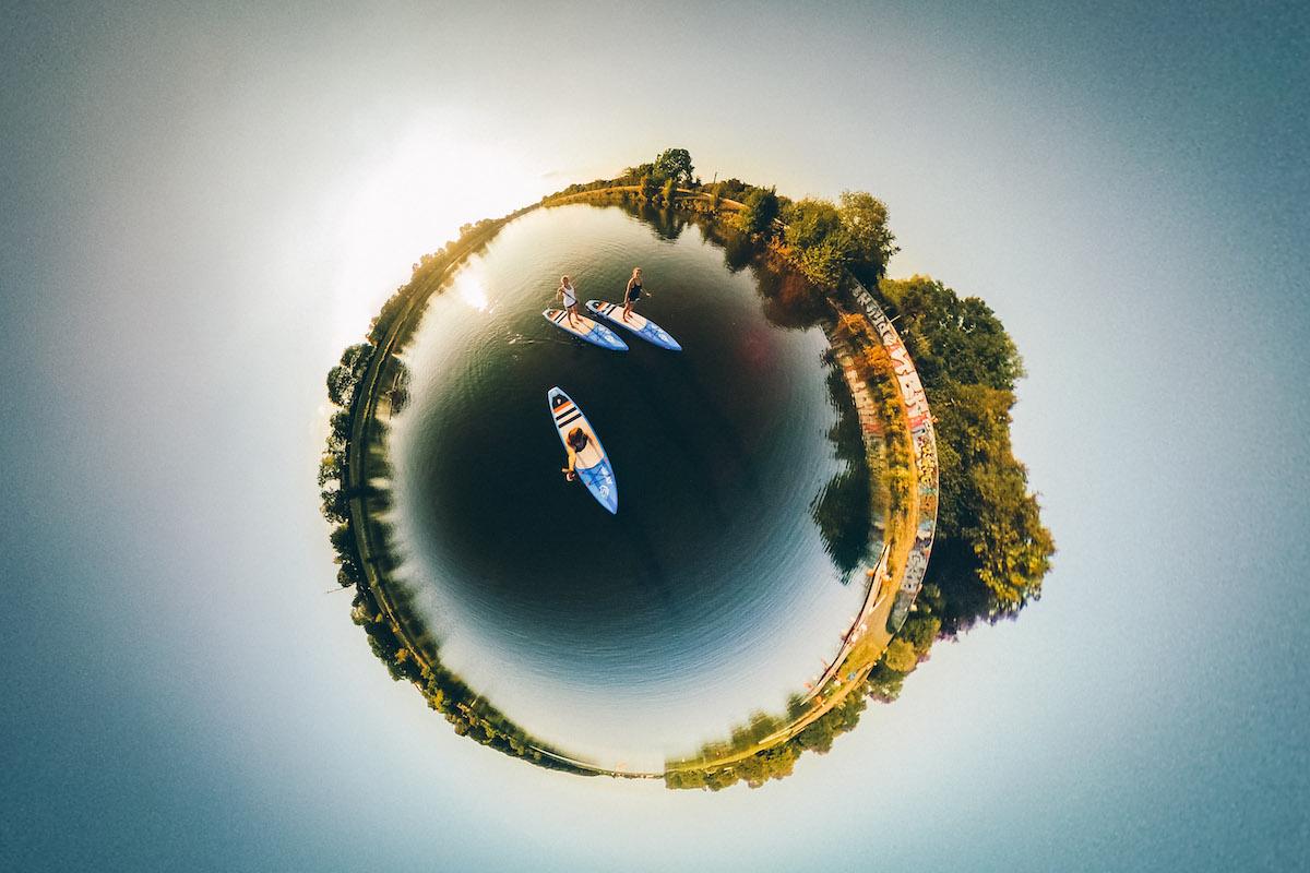 Ins Blaue SUP Werdersee Planet