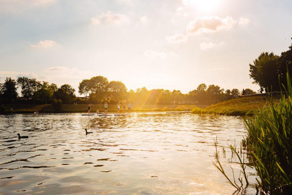 Ins Blaue SUP Werdersee Sunset Paddle 01