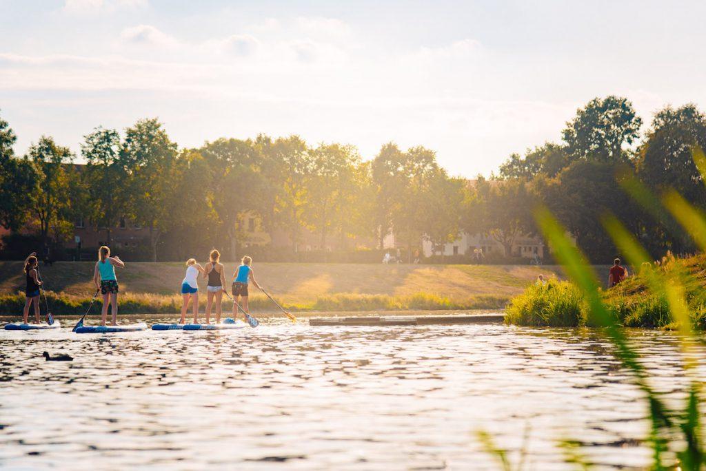 Ins Blaue SUP Werdersee Sunset Paddle 03